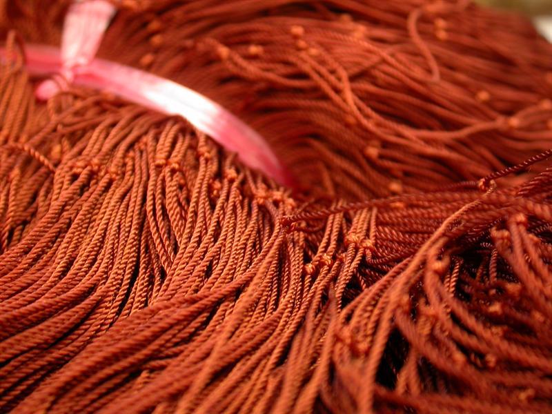 Come è fatta una rete di nylon