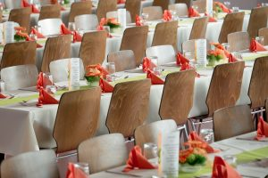 Roma: noleggiare sedie e mobili per manifestazioni e meeting