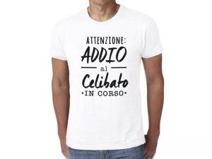 t-shirt per addio al celibato